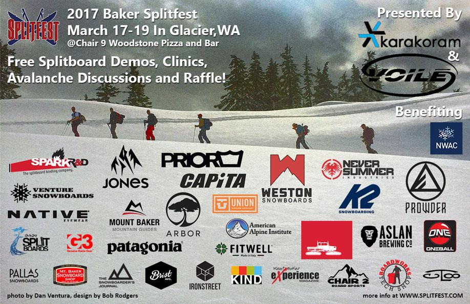 2017 Baker Splitfest Poster